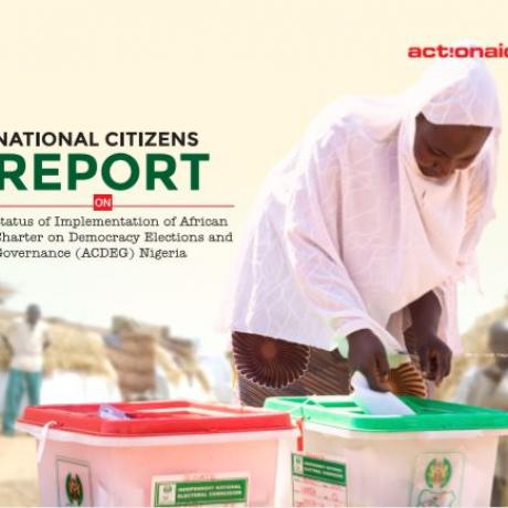 National Citizens Report on the Status of Implementation of ACDEG Nigeria