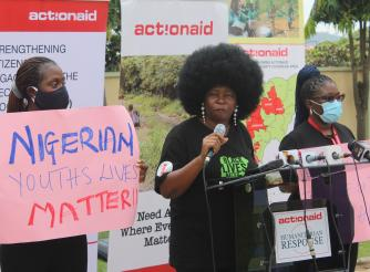 ActionAid Nigeria's Campaign against Police Brutality